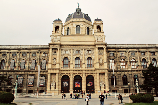 vienna nature science museum building outside view picture