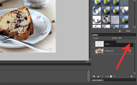 how to add white misty blurred border to a picture with photoshop tutorial, how to change opacity of a layer