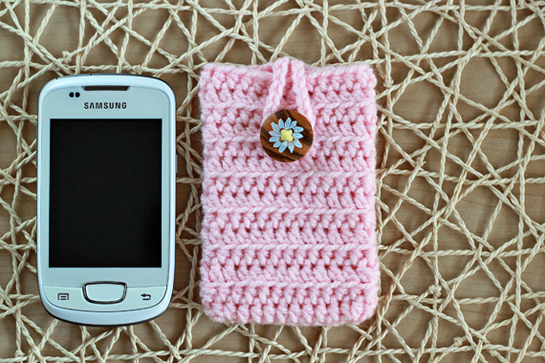 New pattern crochet cell phone cover crafts zoom yummy crochet pattern phone cover dt1010fo
