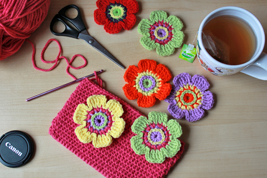 colorful-crochet-flowers
