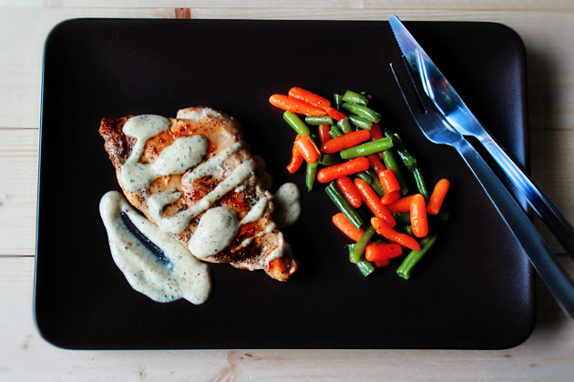 sauteed chicken with mustard cream sauce recipe