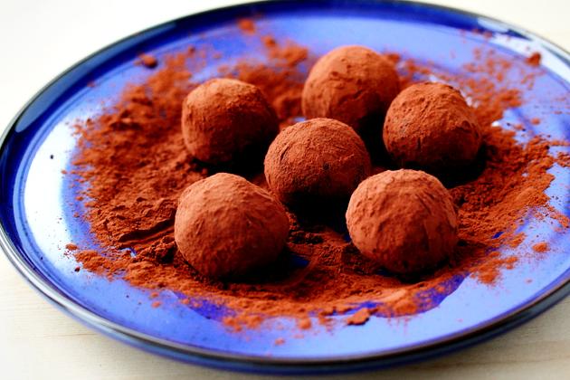 Cookie Crumb Chocolate Truffles Recipe