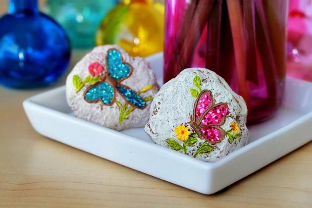 colorful decorative stones