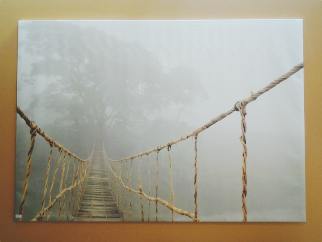 rope bridge photo from ikea