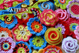 Big Crochet Flower Party Pattern