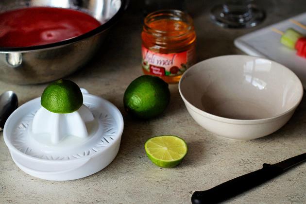 watermelon and cucumber boozy cooler - recipe
