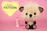 Miniature Crochet Teddy Bears