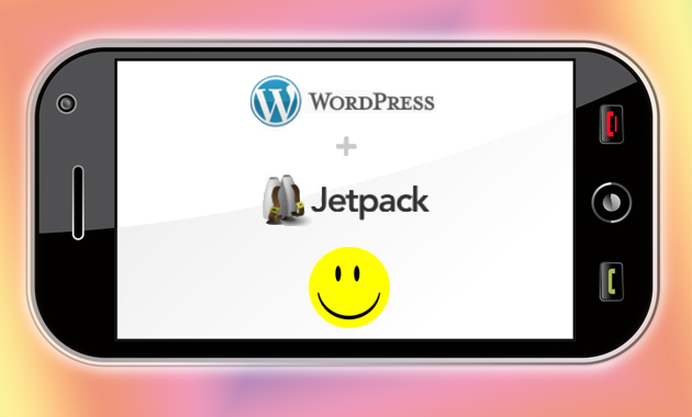 smartphone wordpress jetpack mobile friendly