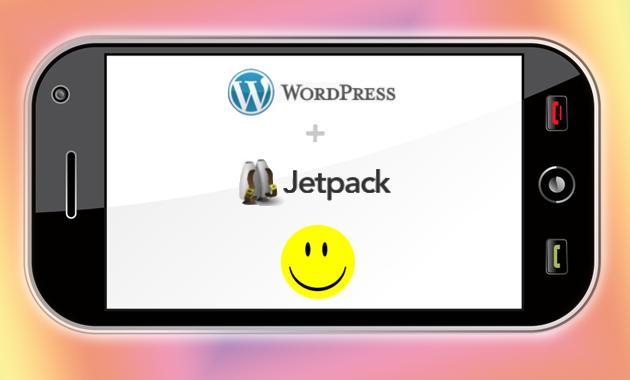 smartphone wordpress jetpack mobile friendly