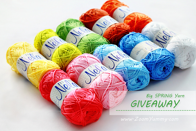 big spring yarn giveaway from ZoomYummy.com