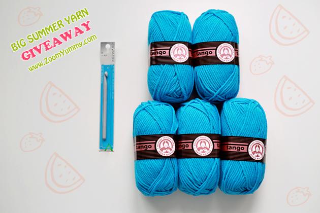 big summer yarn giveaway - winner