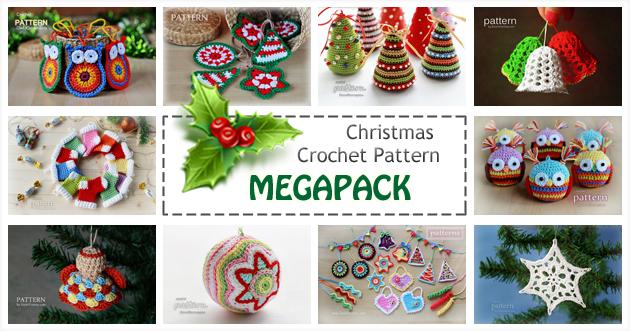 crochet Christmas pattern MEGAPACK