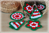 Crochet Christmas Ornaments Pattern