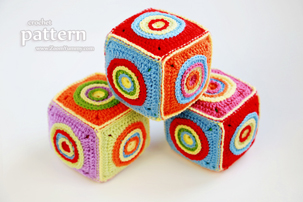 Crochet Soft Toy Cube