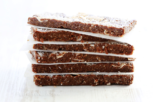 Raw No-Bake Date And Coconut Energy Bars