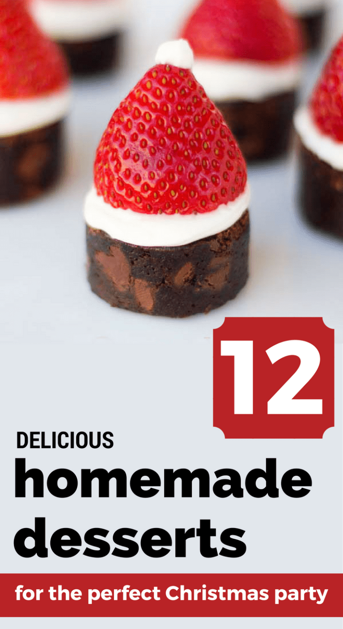 12 delicious homemade desserts for the perfect christmas party - Christmas Party Desserts