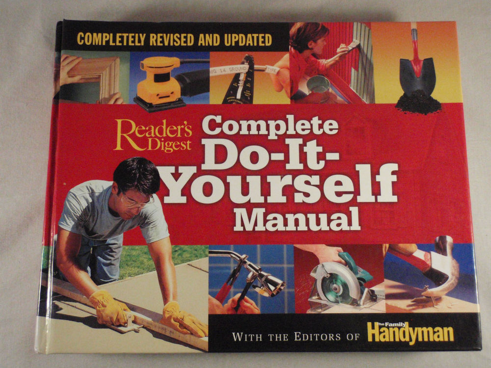 Complete do it yourself manual completely revised and updated by complete do it yourself manual completely revised and updated by editors of the family handyman solutioingenieria Choice Image
