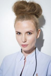 Cotton Candy Top Knots Hairstyle