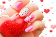 Cute and Romantic Valentine's Day Nails