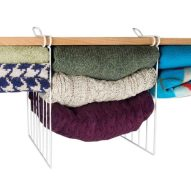 Evelots Wire Shelf Dividers