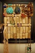 Frame Wine Cork Jewelry Display