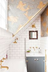 Fun, Fabulous, Pink & Patterned Edinburgh Bathroom