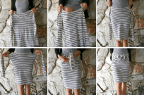 How to Make a Skirt in 8 Seconds
