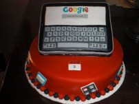 Ipad Nerd Birthday Cake