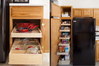Add Ready-Made Pull Out Drawers