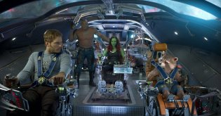"""""""Guardians of the Galaxy Vol. 2"""" (Christopher Townsend, Guy Williams, Jonathan Fawkner, Dan Sudick) For Best Visual Effects"""