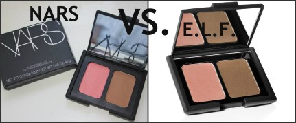 Blush Dupes - Nars Blush & Bronzer Duo v.s. E.l.f. Duo & Rev