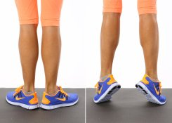 Calf Raises - External Rotation