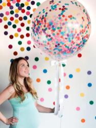 Confetti-Filled Baby Shower