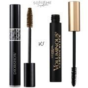 Dior Mascara Diorshow VS L'Oreal Voluminous