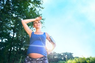 Don't Exercise In High Heat Or Humidity