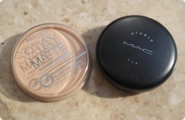 MAC Studio Fix Powder Plus Foundation VS Rimmel Stay Matte Pressed Powder