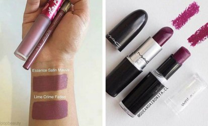 MAC vs. Wet N Wild Lipstick Dupe