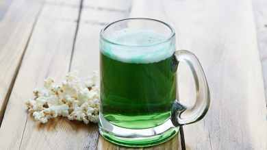 Make Green Beer for St. Patrick's Day
