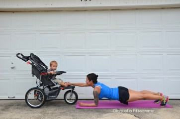 One-Arm Stroller Planks