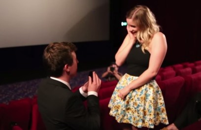 Propose In A Movie Theater