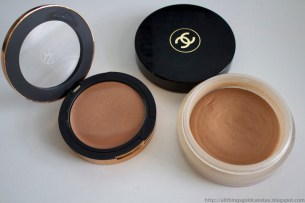 Sonia Kashuk (Warm Tan) vs. Chanel Soleil Tan De Chanel Cream Bronzers Dupe