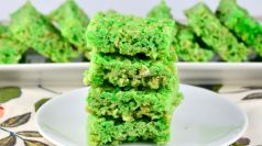 St. Patricks Day Crispy Treats