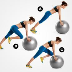 Stability Ball Climbers