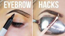 Use A Spoon To Get A Perfectly Defined Eyebrow