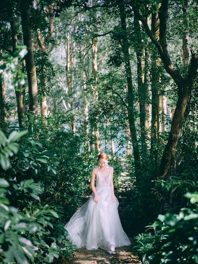 zOO Wedding Hong Kong Prewedding Photographer by Cheric 森林系 城門水塘