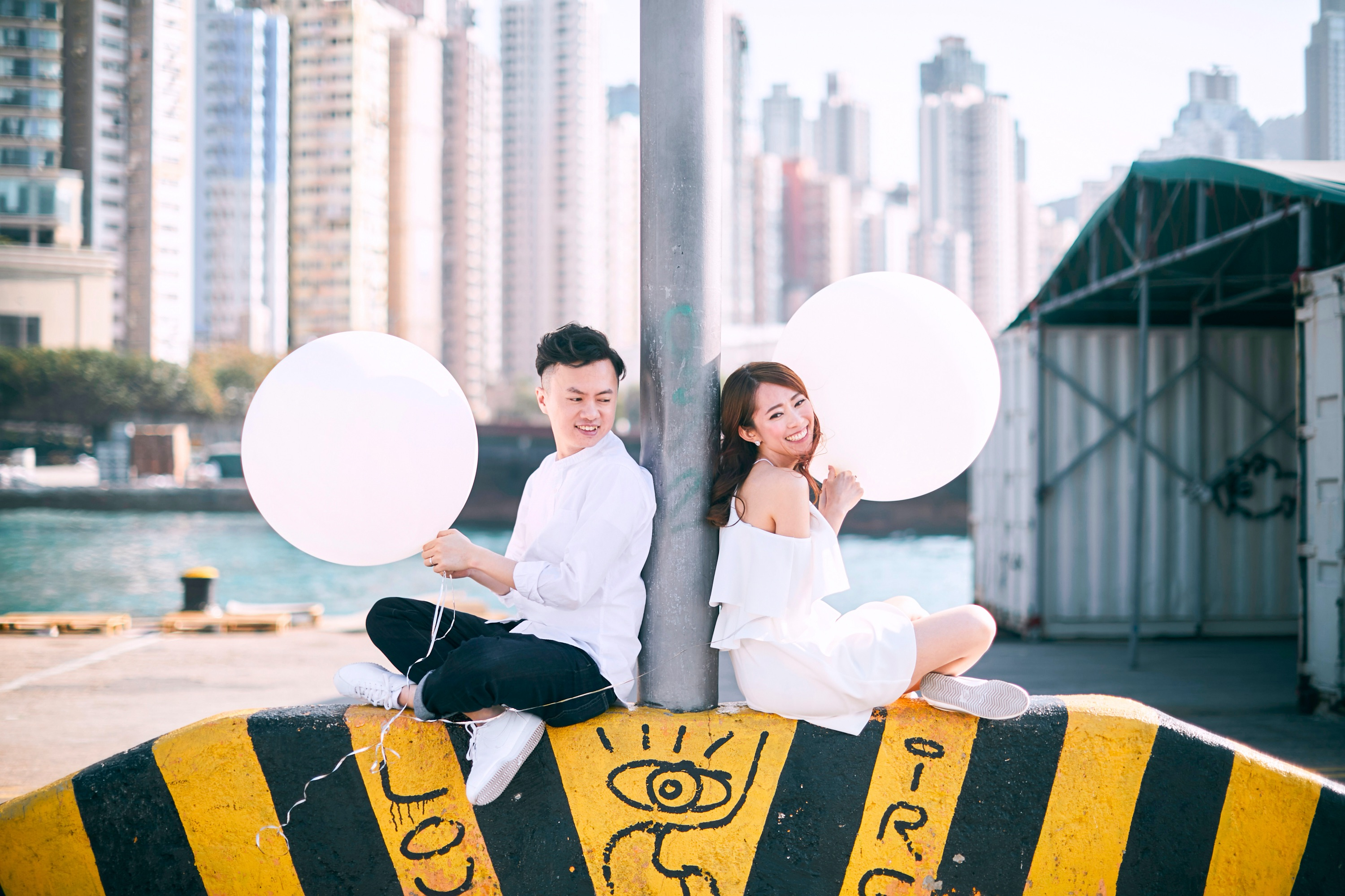 zOO Wedding Hong Kong Prewedding Photographer by Cheric 文青系 西環碼頭 婚紗 禮服 結婚