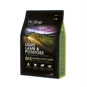 Корм для собак с лишним весом с ягнёнком и картофелем Profine Light Lamb & Potatoes