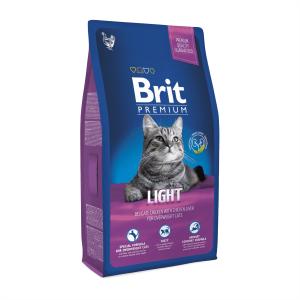 Корм для кошек с избыточным весом Brit Premium Cat Light