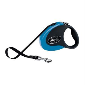 Рулетка Flexi COLLECTION S 3 м./12 кг. (лента) черно-голубая, черно-розовая