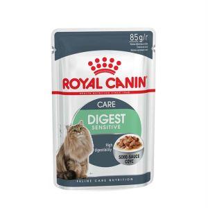 Влажный корм для кошек с чувствительным пищеварением Royal Canin DIGEST SENSITIVE в соусе